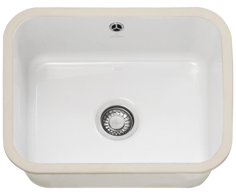 Franke Ceramic Sink : Franke V And B VBK 110 50 Ceramic 1.0 Bowl Undermount Kitchen Sink ...