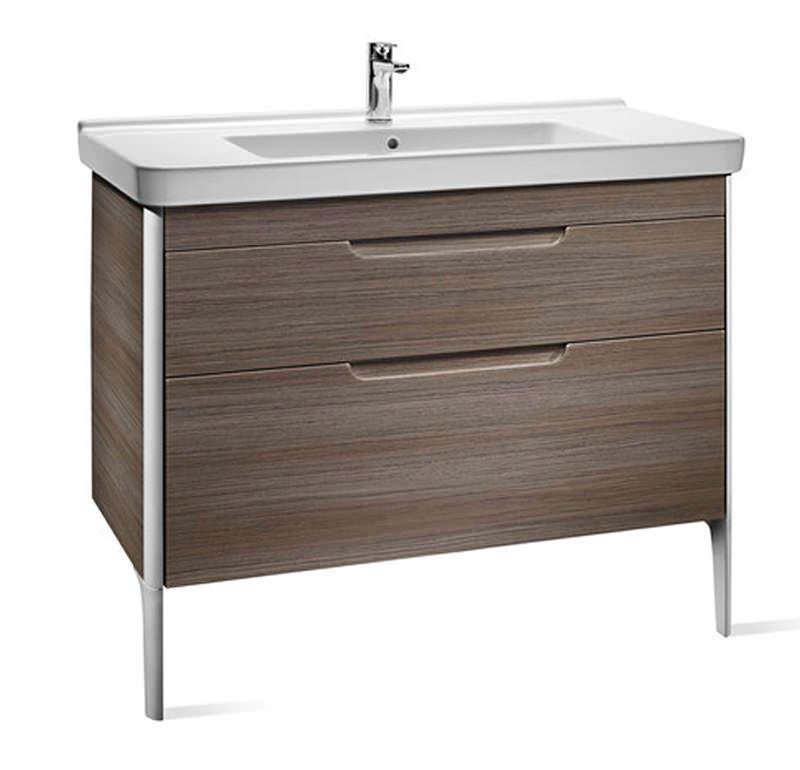 Roca dama n 2 drawer base unit 1000mm wide 856610150 for 1000mm kitchen drawer unit