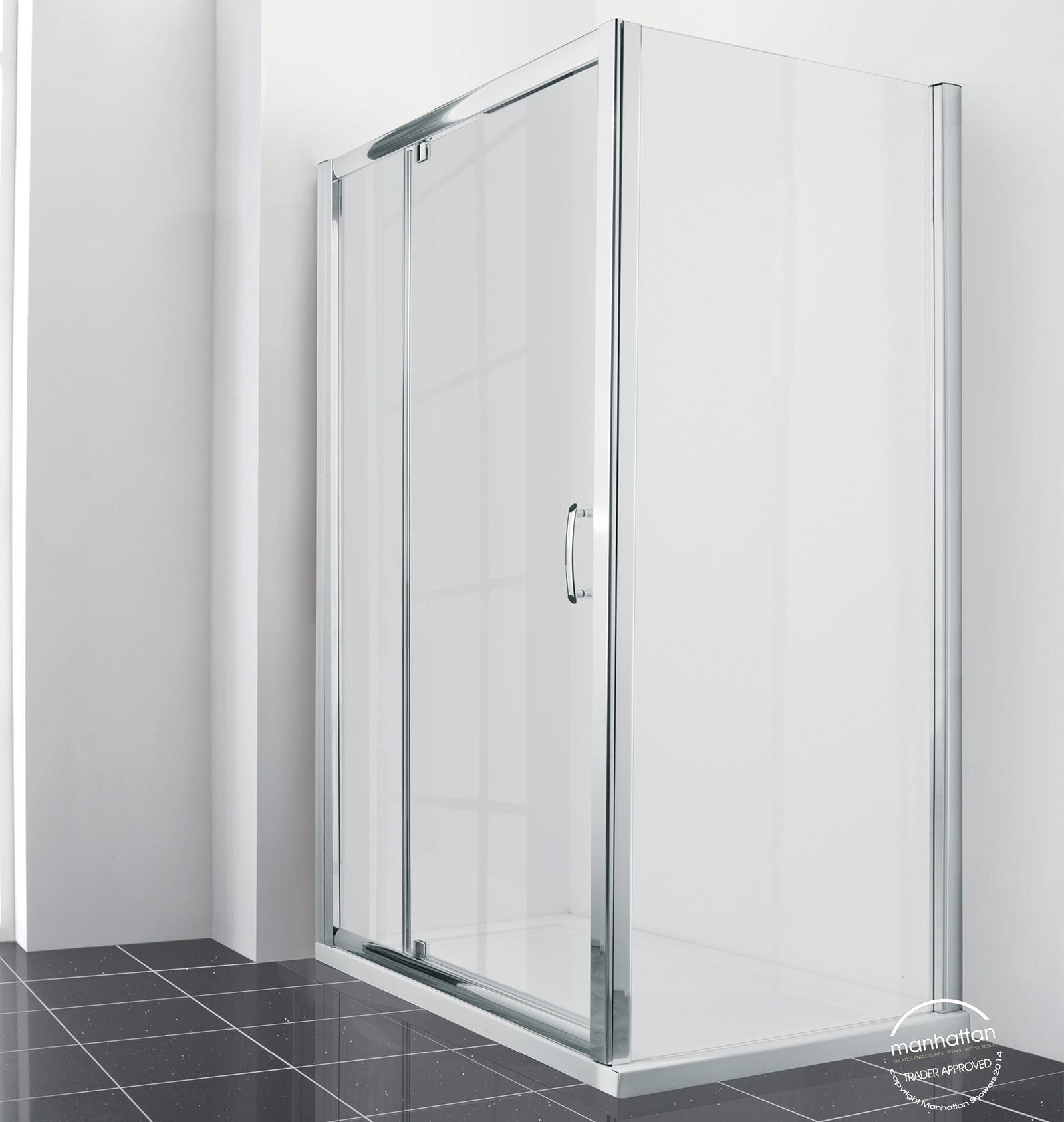Manhattan new era 6 extended pivot shower door 1200mm for 1200mm shower door