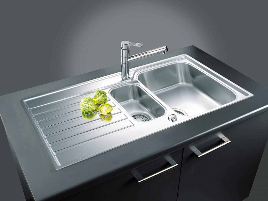Franke Kitchen Sinks : ... of Franke Ascona ASX 651 Stainless Steel 1.5 Bowl Kitchen Inset Sink