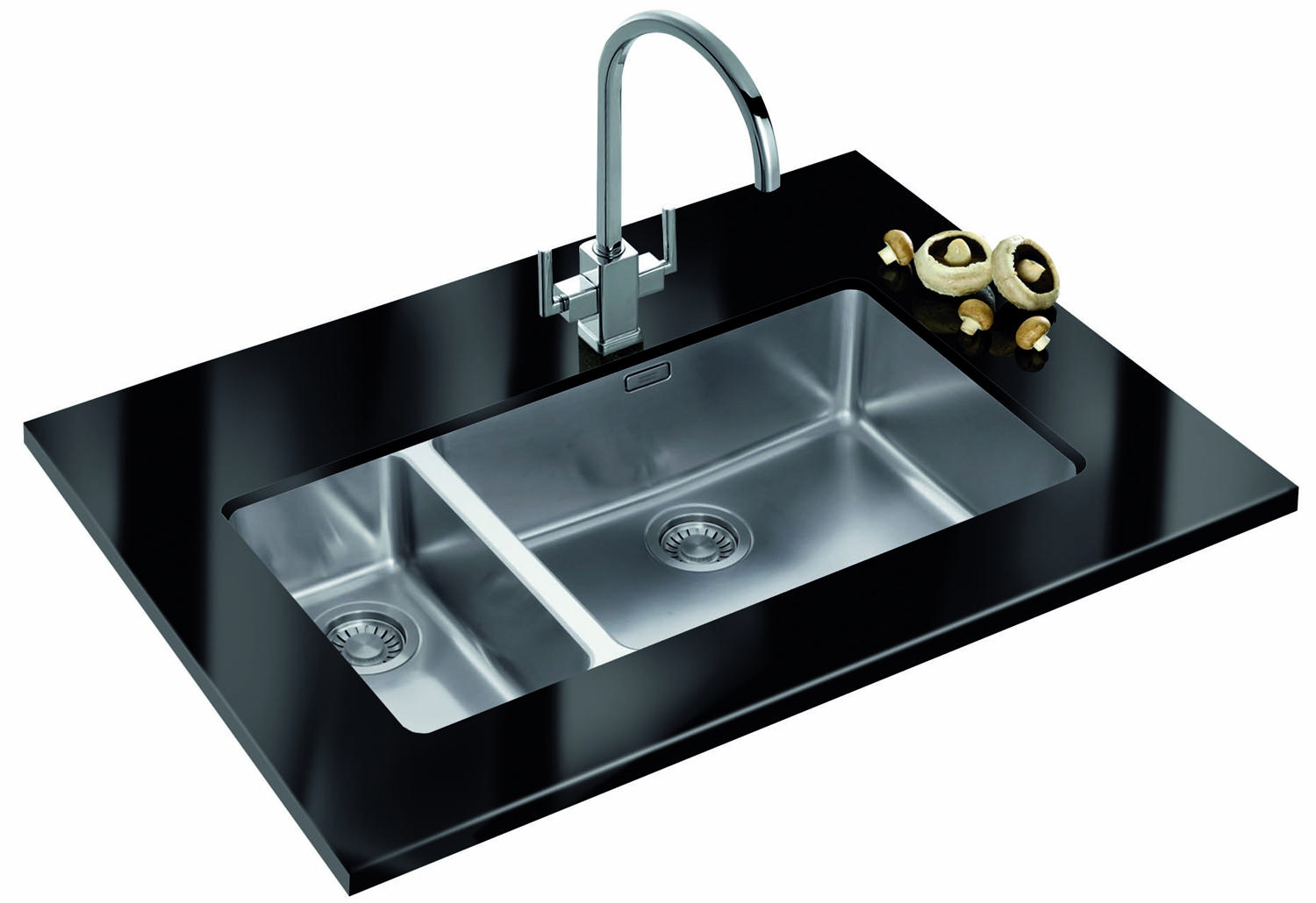Franke Sink Kubus : ... of Franke Kubus KBX 160 55-20 Stainless Steel 1.5 Bowl Undermount Sink
