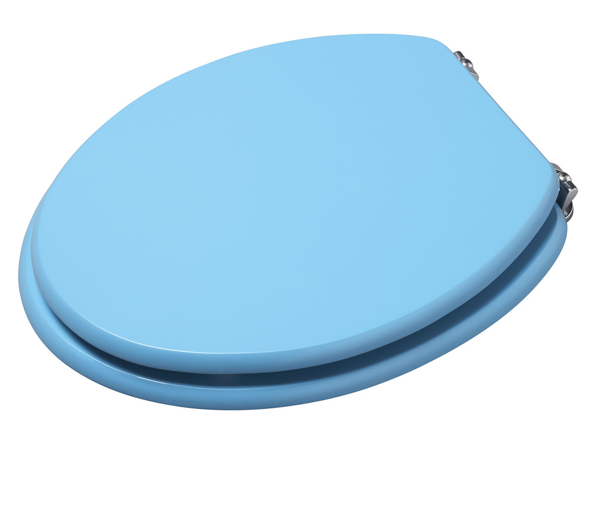 Croydex Blue Coloured Toilet Seat WL522224