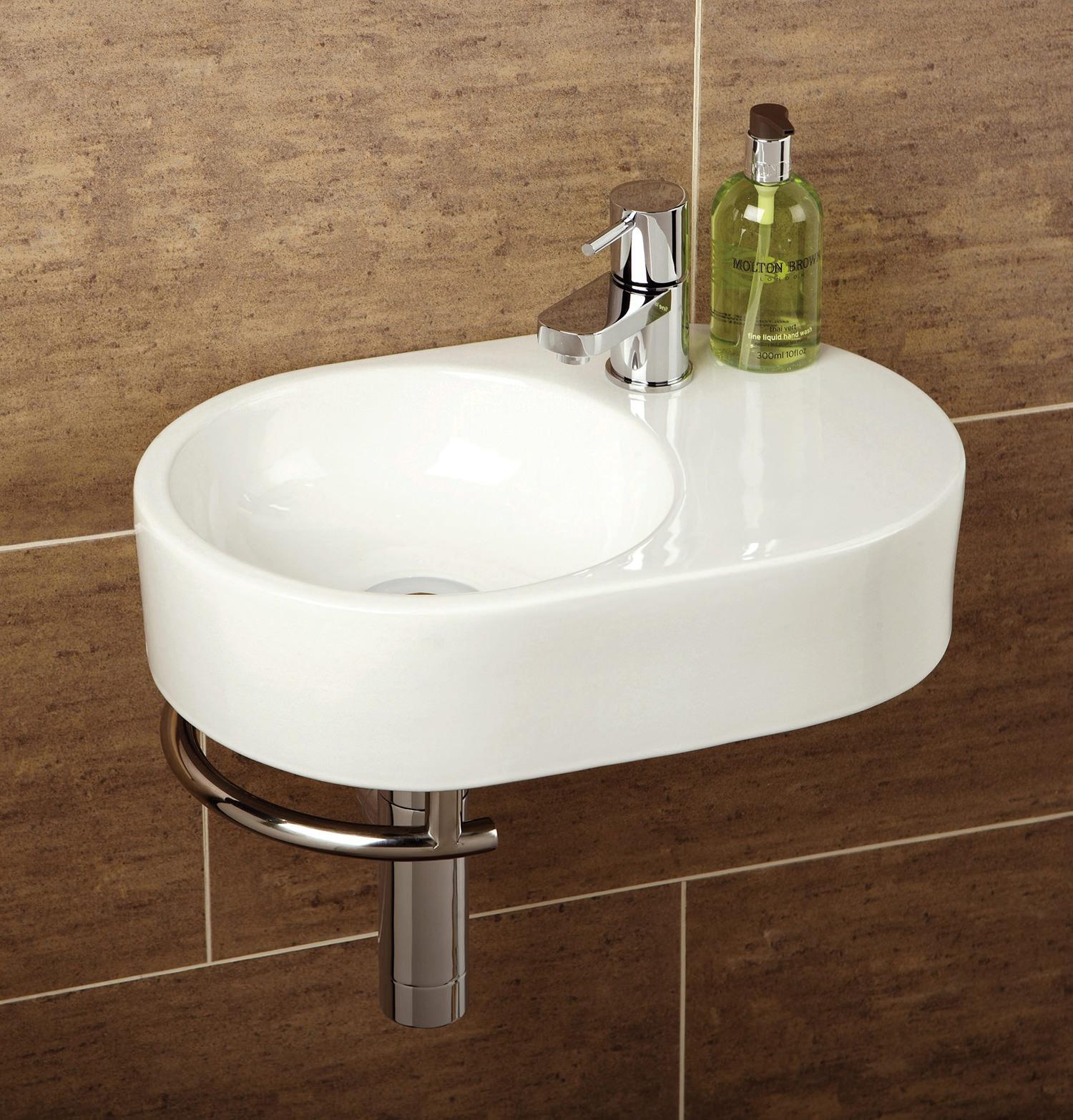 ... cloakroom basins hib malo saville cloakroom basin with towel rail