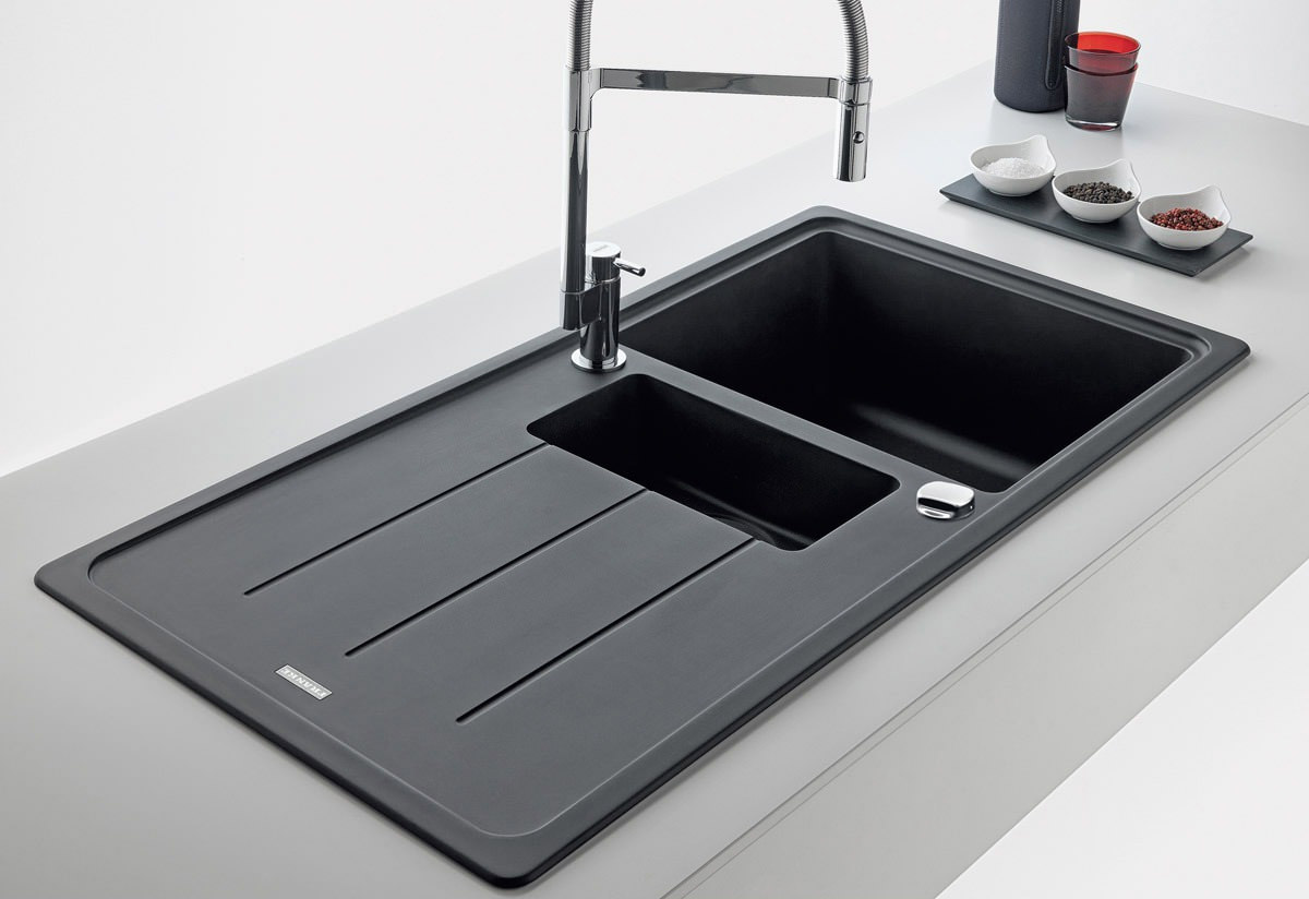 franke basis bfg 651 fragranite onyx 1 5 bowl kitchen inset sink. Black Bedroom Furniture Sets. Home Design Ideas