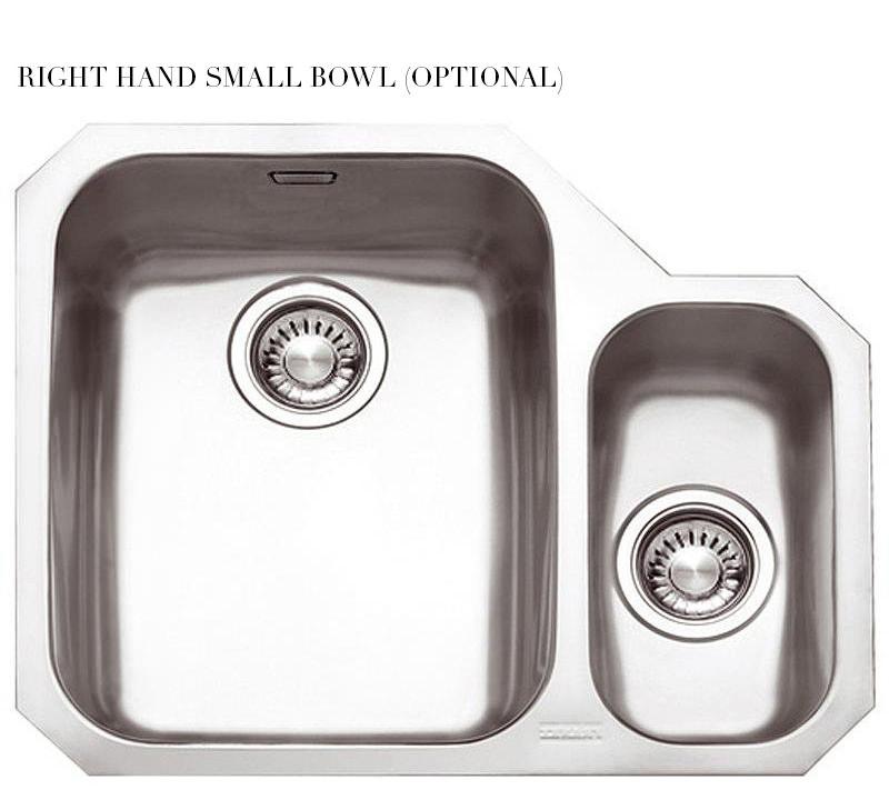 ... of Franke Ariane ARX 160 Stainless Steel 1.5 Bowl Undermount Sink