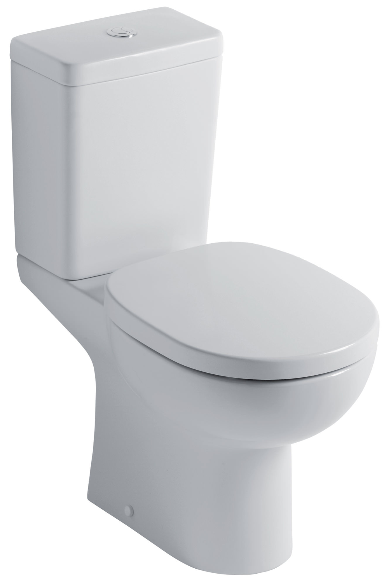 ideal standard studio close coupled wc with cube cistern 665mm. Black Bedroom Furniture Sets. Home Design Ideas