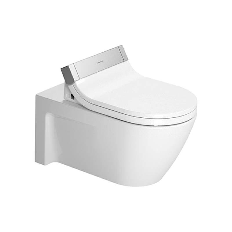 duravit sensowash seat with starck 2 wall mount wc pan. Black Bedroom Furniture Sets. Home Design Ideas