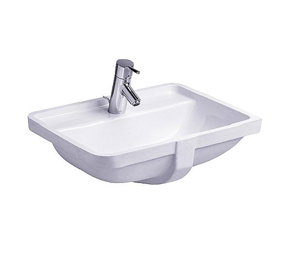 duravit starck 3 vanity under counter basin with overflow. Black Bedroom Furniture Sets. Home Design Ideas