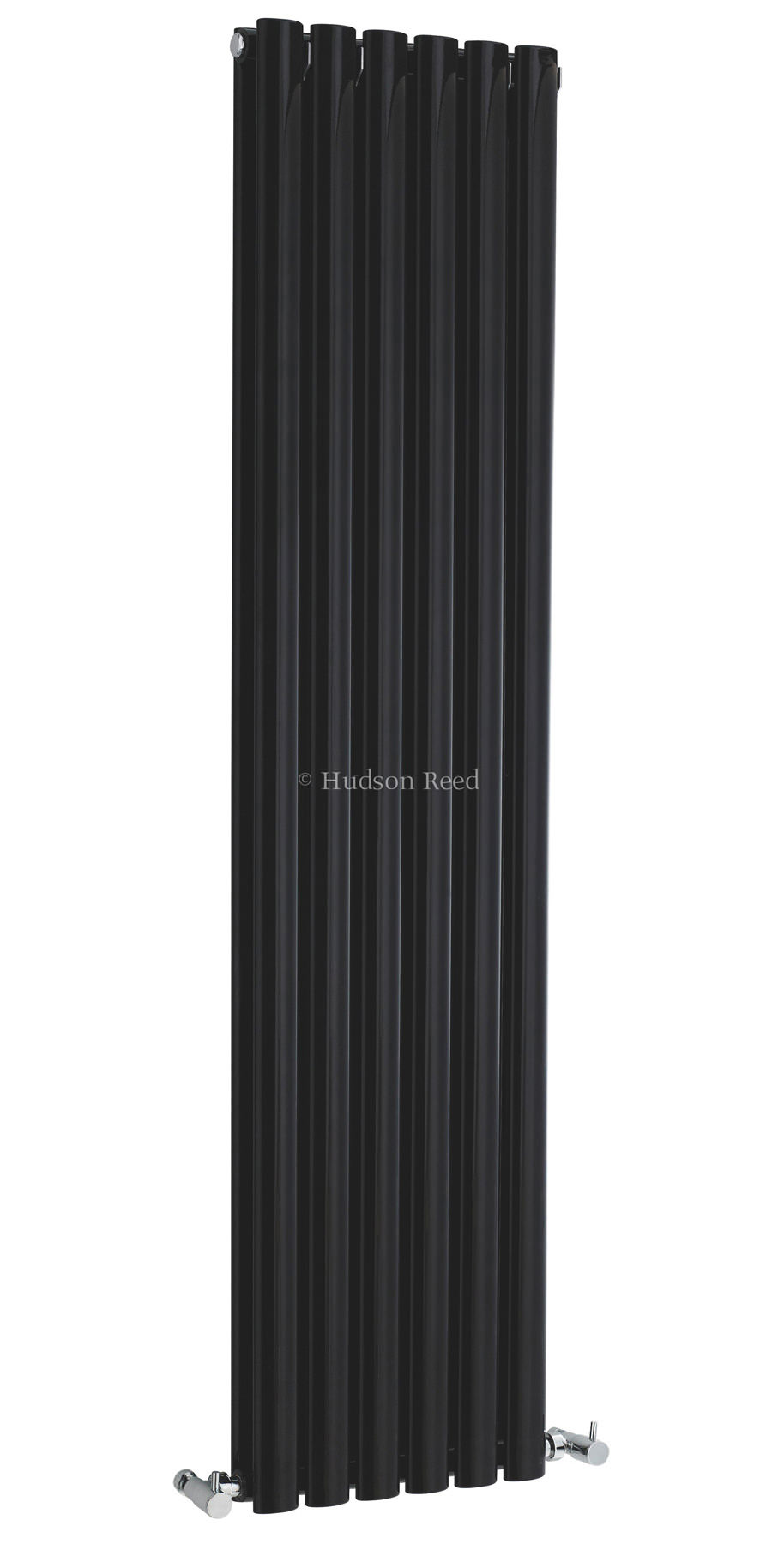 hudson reed revive double panel black radiator 354x1500mm. Black Bedroom Furniture Sets. Home Design Ideas