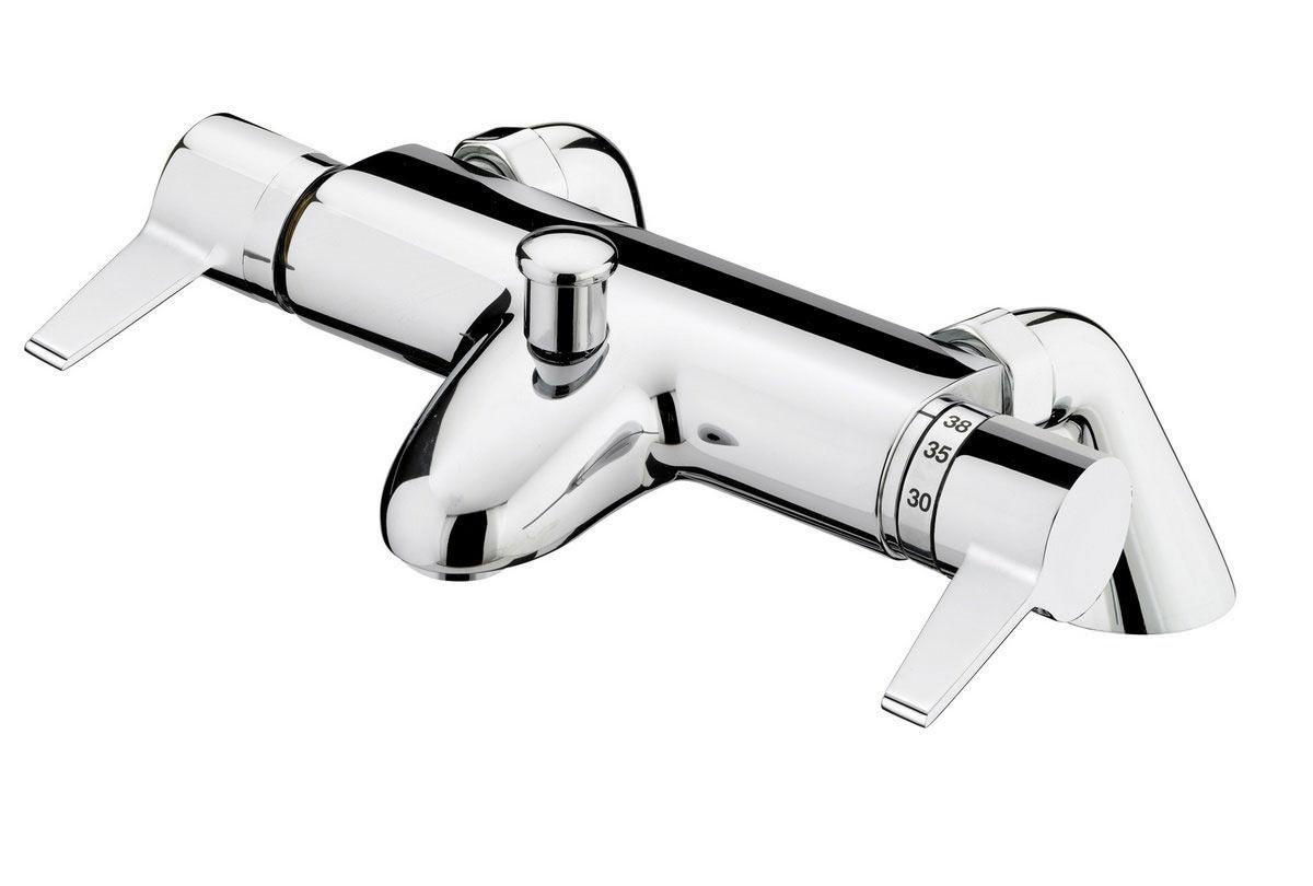 Bristan Design Utility Lever Thermostatic Bath Shower