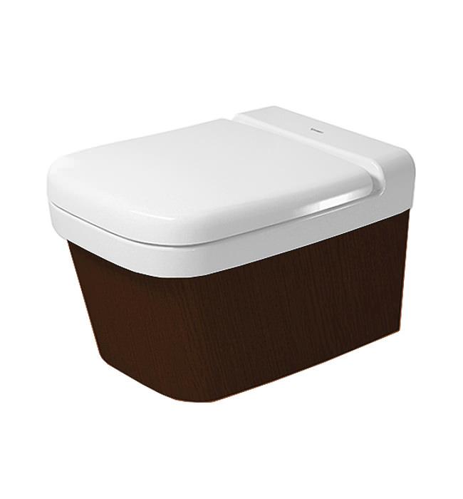 Duravit esplanade oak 450 x 560mm wall mounted toilet with - Duravit esplanade ...
